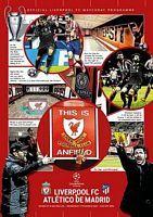 Liverpool vs Atletico Madrid