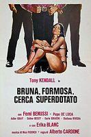 Bruna, formosa, cerca superdotato per tango a Milano